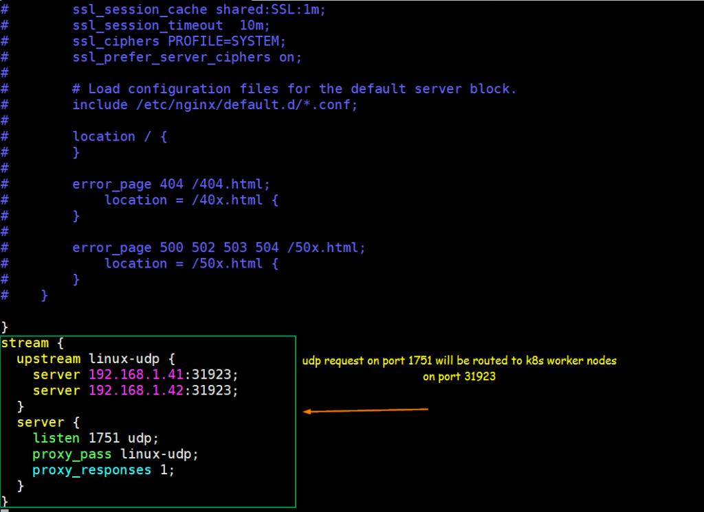 UDP-NGINX-Configuration-Linux