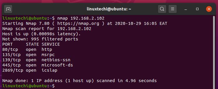 scan-single-scan-nmap-command