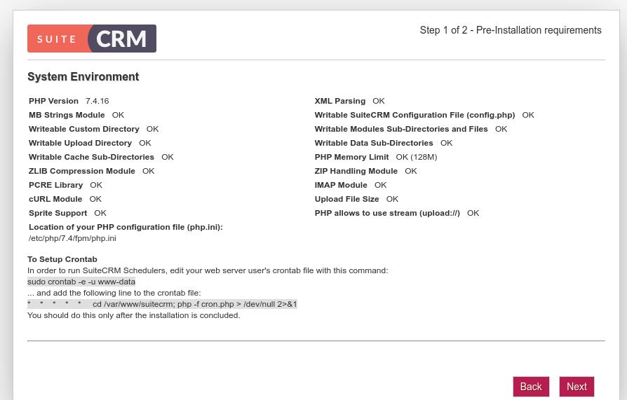 install suitecrm on ubuntu 20.